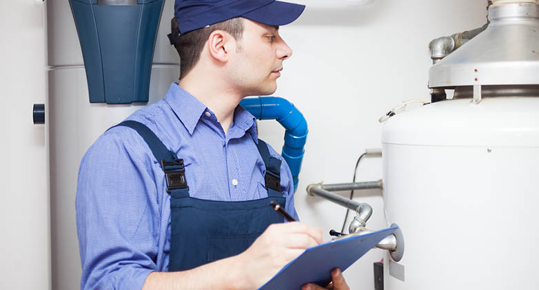 hot-water heater service and Repair